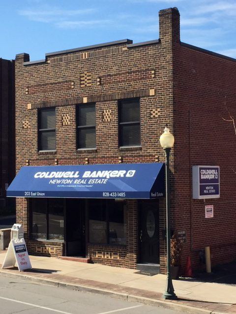 Coldwell Banker Newton Real Estate Store Front